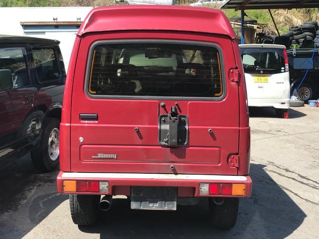 YC パノラミックルーフ 5速MT 4WD ターボ CD(6枚目)
