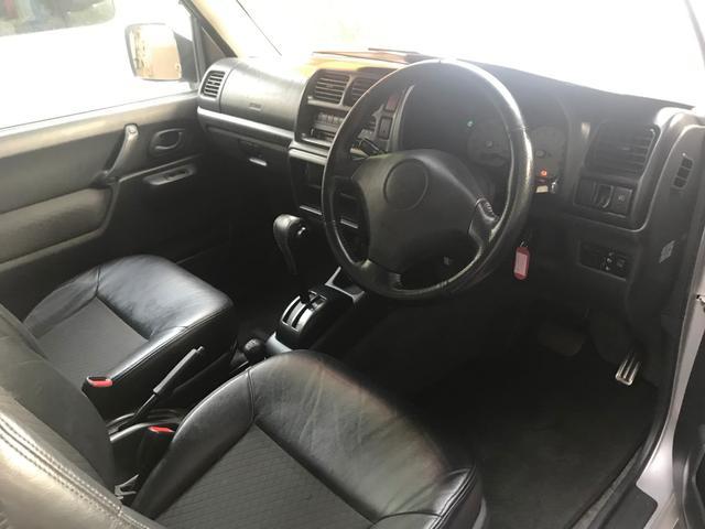 ランドベンチャー ハーフレザーシート 4WD ターボ CD(8枚目)