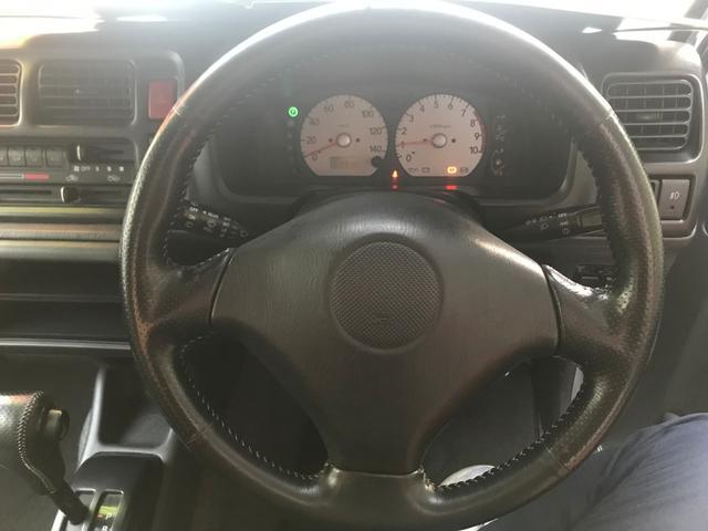 ランドベンチャー ハーフレザーシート 4WD ターボ CD(11枚目)
