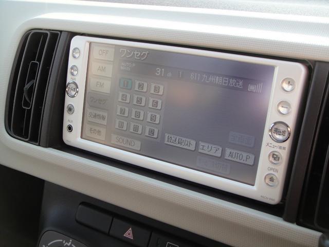 トヨタ パッソ プラスハナ Cpkg 純SDナビ地デジTV 走行3.4万Km