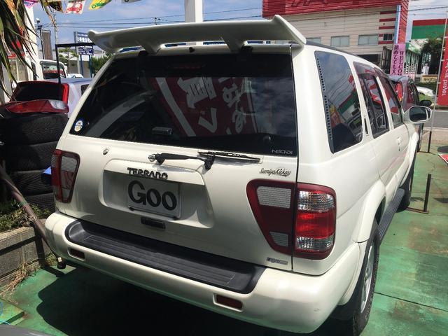 日産 テラノ ワイドR3m-X エアロリミテッドパッケージ ディーゼル