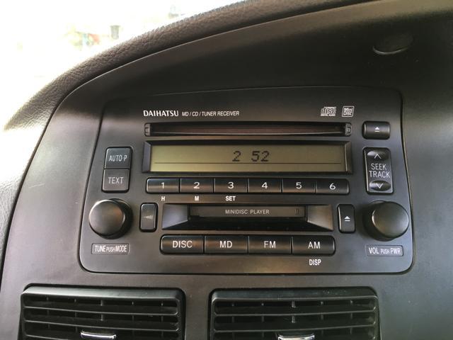 ダイハツ ムーヴ カスタムX 純正CD・MD キーレス キセノンライト ABS