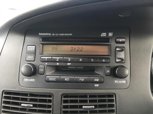 ダイハツ ムーヴ カスタムX CD・MDコンポ キーレス 電動格納ミラー