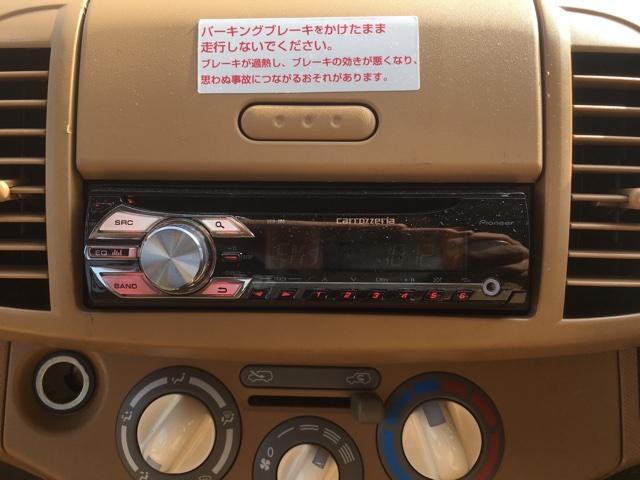 日産 マーチ 12c CDオーディオ ETC コ-ナーポール