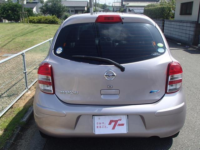 日産 マーチ 12X ナビ付 CD再生 スマートキー ETC
