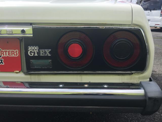 日産 スカイライン 2000GT-E X 5MT CD 社外AW