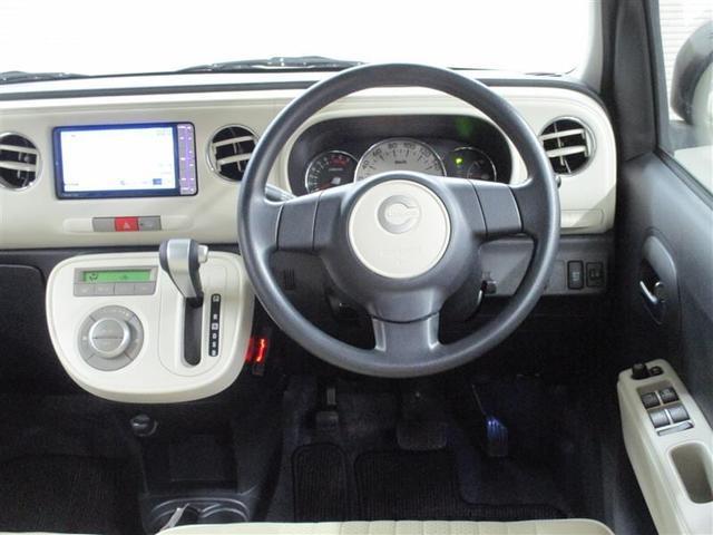 ココアプラスX 1年保証付 メモリーナビ ETC フルセグTV DVD再生 CD再生 スマートキー アイドリングストップ ベンチシート 電動格納ミラー 盗難防止システム 運転席エアバッグ 助手席エアバッグ ABS(4枚目)