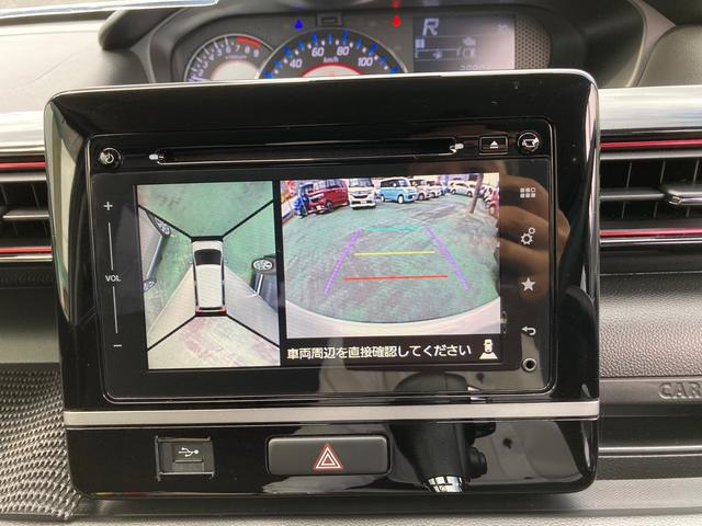 ハイブリッドX ETC 全周囲カメラ ナビ レーンアシスト HID Bluetooth ミュージックプレイヤー接続可 USB DVD再生 CD スマートキー アイドリングストップ 電動格納ミラー シートヒーター(11枚目)
