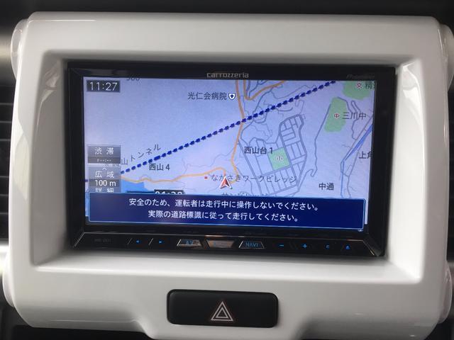 スズキ ハスラー G 社外HDDナビフルセグTV レーダーブレーキ ETC
