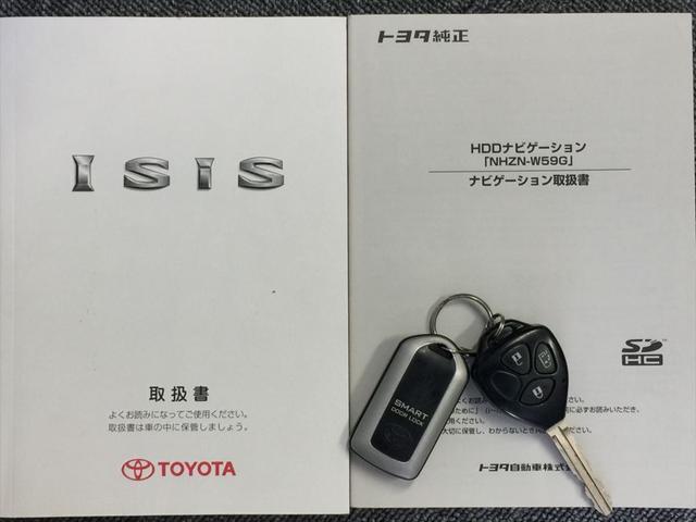 トヨタ アイシス プラタナ 電動スライドドア 社外アルミ HDDナビ