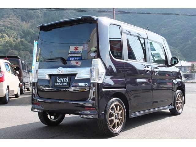 カスタムX 国産タイヤ4本新品 メモリーナビ バックカメラ(5枚目)