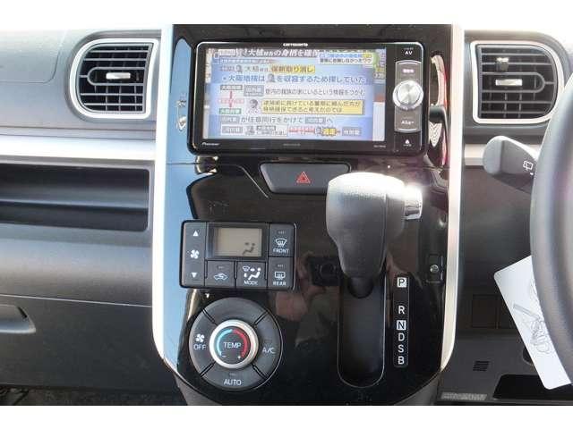 カスタムX 国産タイヤ4本新品 メモリーナビ バックカメラ(11枚目)