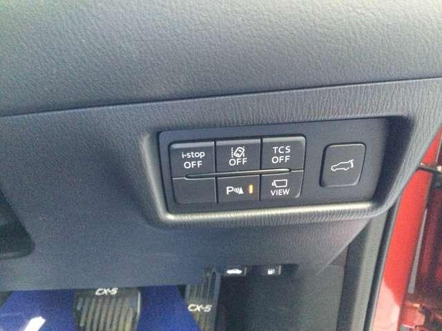 I-Stop機能の他、安心してドライブが出来るように安全装備も充実!