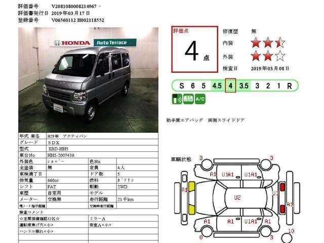 SDX エアコン・キーレス・ラジオ(7枚目)