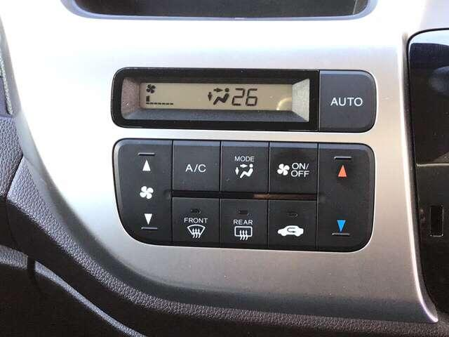 エアコンはオートエアコンとなっています。