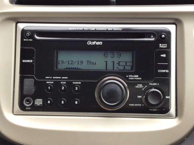 CDチューナーを装備しています。