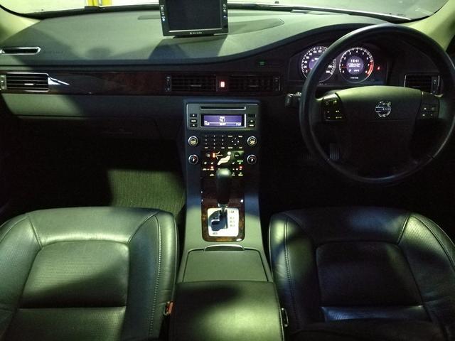 ボルボ ボルボ S80 3.2 プッシュスタート 社外ナビ ETC シートクーラー
