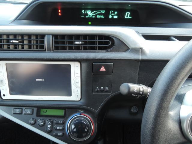 トヨタ アクア S プッシュスタート フォグライト ETC 2年保証
