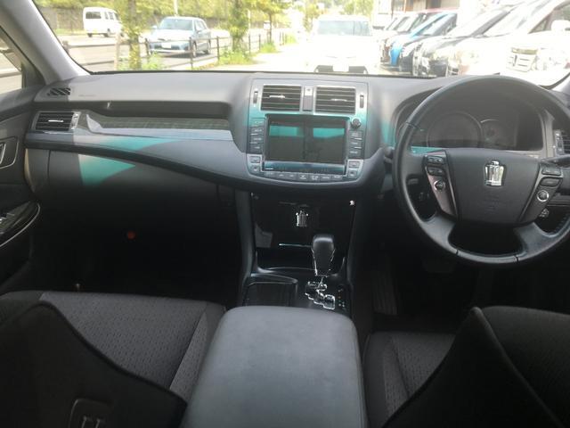 トヨタ クラウン 2.5アスリート アニバーサリーエディション 車高調 純ナビ