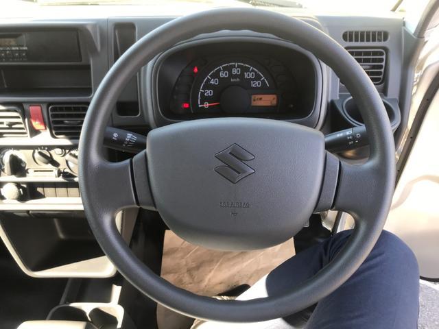 KCエアコン・パワステ 保証付 届出済未使用車 禁煙車 5速MT 三方開 純正ラジオ 運転席エアバッグ 助手席エアバッグ ABS(19枚目)