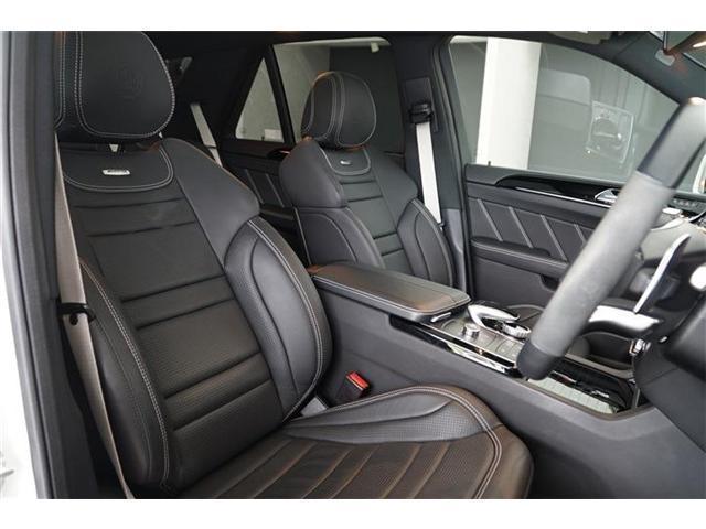 GLE63 S 4マチック パノラミックスライディングルーフ 21インチマットブラックアルミホイール AMGドライバーズパッケージ エアマティックサスペンション アダプティブブレーキ シートベンチレーター シートヒーター(14枚目)