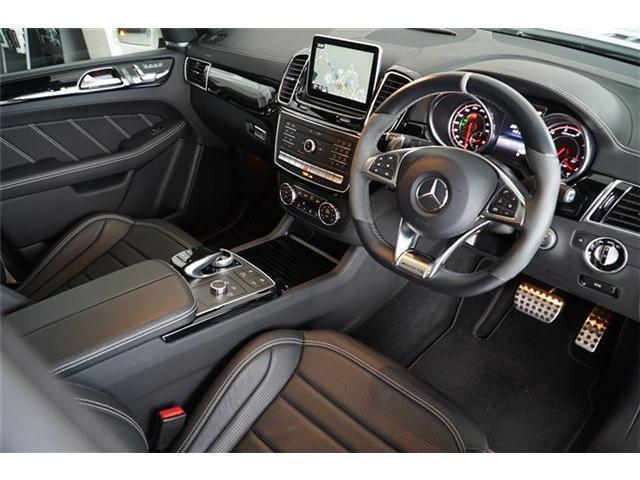 GLE63 S 4マチック パノラミックスライディングルーフ 21インチマットブラックアルミホイール AMGドライバーズパッケージ エアマティックサスペンション アダプティブブレーキ シートベンチレーター シートヒーター(15枚目)
