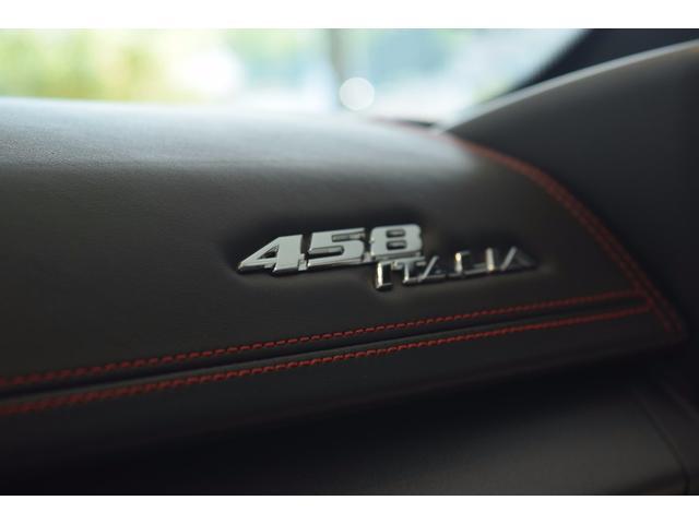 フェラーリ フェラーリ 458イタリア 正規D車 カーボンボンネット 純正OP20AW カーボン多数