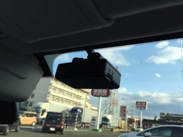 まさかの時も安心のドライブレコーダー付き!
