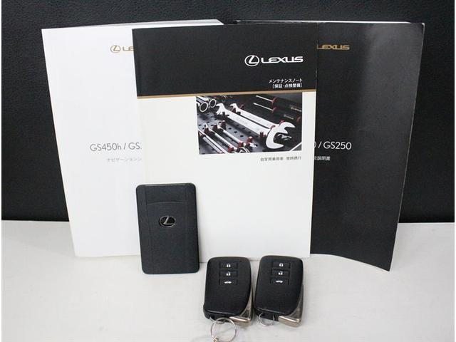 GS250 Iパッケージ フルセグ付HDDナビ 革シート(20枚目)