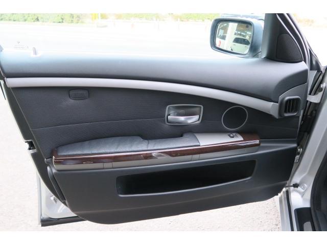 BMW BMW 745i 本革パワーシート コーナーセンサー 純正19AW