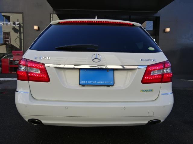 メルセデス・ベンツ M・ベンツ E350ブルテックステーションワゴンアバンG1オナ黒革禁煙車