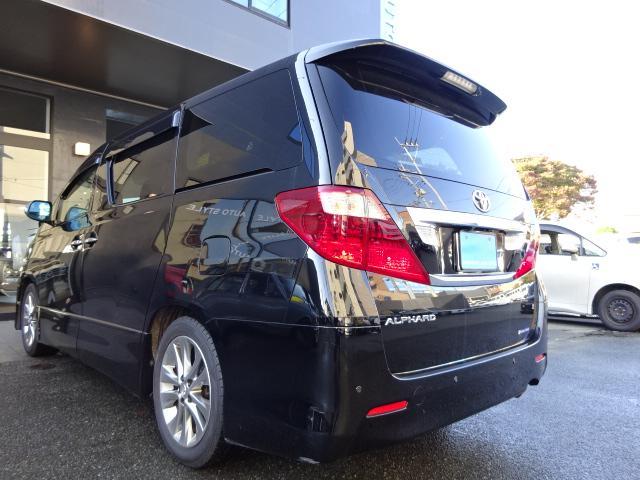 トヨタ アルファード 240S プライムセレクションII両側PSHDDナビフリップ