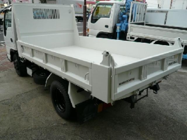 いすゞ エルフトラック 強化フルフラットローダンプ 2t 全低床強化ダンプ