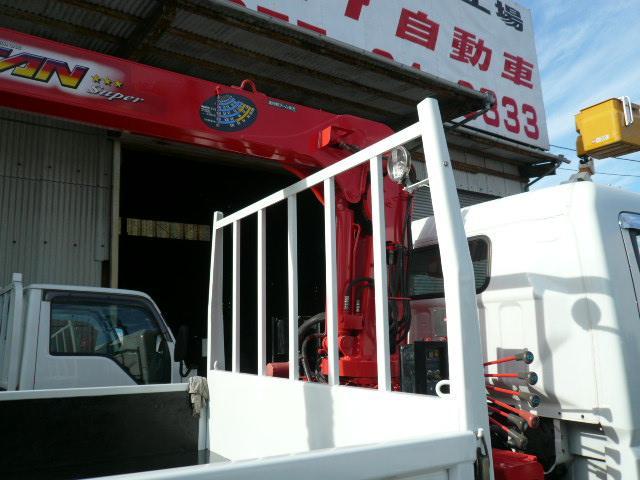 4段クレーン ラジコン付 2.93t吊 リヤジャッキ付き(7枚目)