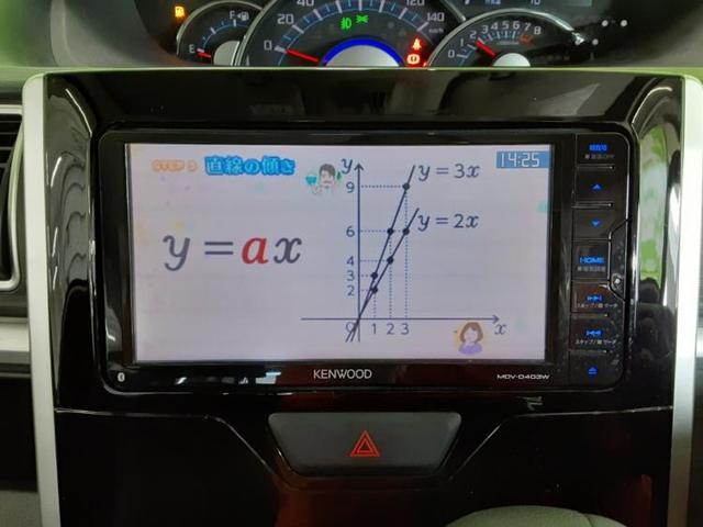 カスタムX SA2 社外 7インチ メモリーナビ/ETC/TV/エアバッグ 運転席/エアバッグ 助手席/アルミホイール/パワーウインドウ/キーレスエントリー/オートエアコン/パワーステアリング(9枚目)