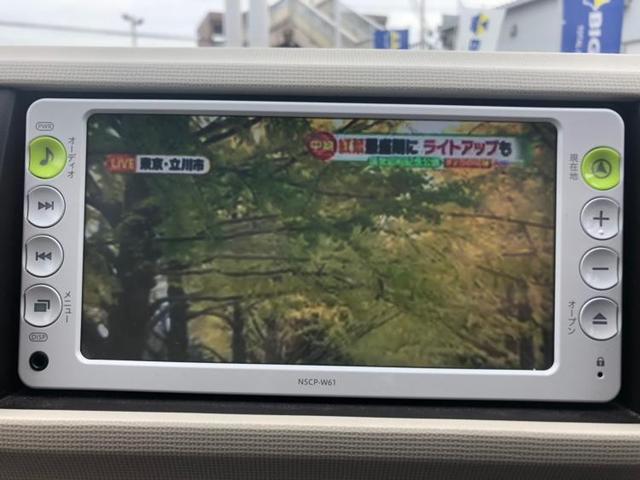 X ユルリ 純正SDナビ地デジ バックカメラETC(10枚目)