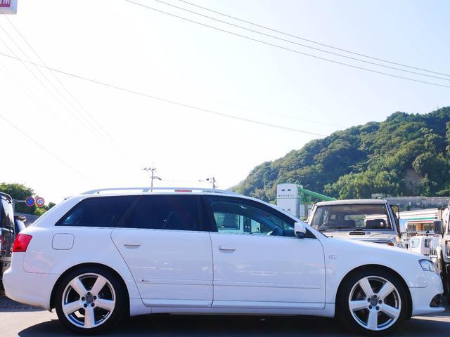 アウディ アウディ A4アバント 2.0アトラクション Sライン 正規ディーラー車 ナビ TV