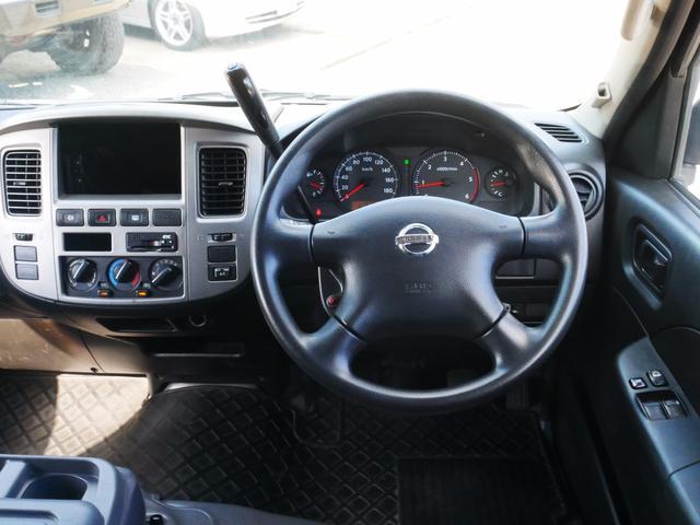 日産 キャラバン スーパーDX 平床ロング 両側スライド Dターボ 1年保証付