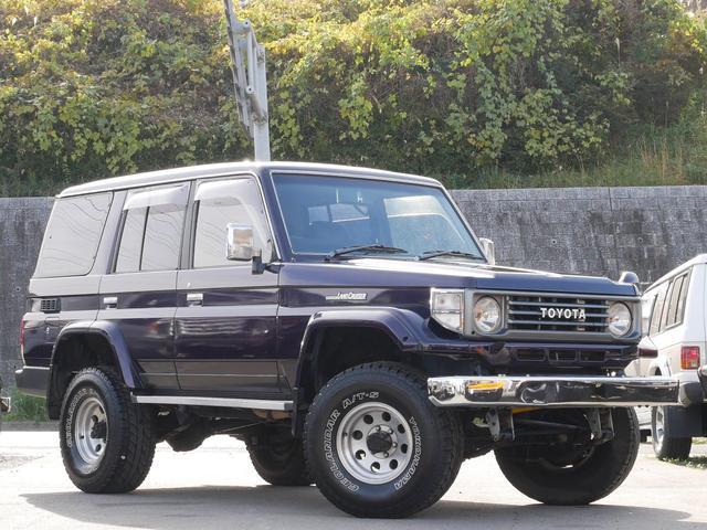 「トヨタ」「ランドクルーザー70」「SUV・クロカン」「福岡県」の中古車8