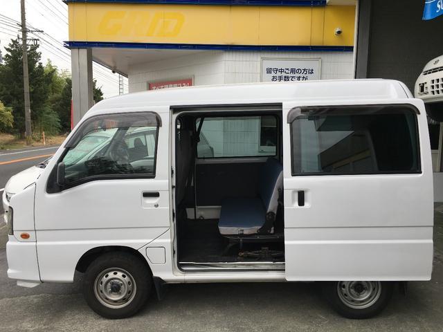 スバル サンバーバン トランスポーター タイベル ポンプ交換済 リモコンキー