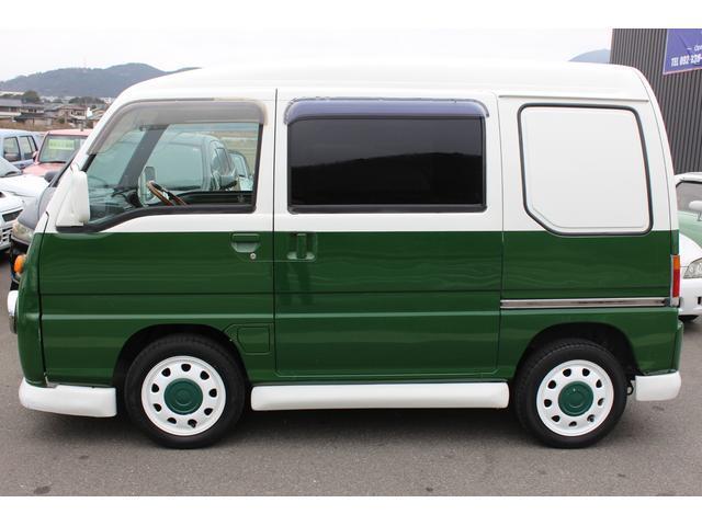 スバル サンバーディアス クラッシック 10万km時リビルトエンジン載せ替え バス仕様