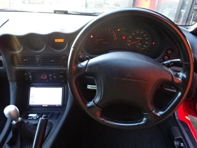 ツインターボMR サンルーフ レカロシート 車高調 社外20インチアルミ 4本出しマフラー ダクト付きボンネット フロントフェンダー(13枚目)