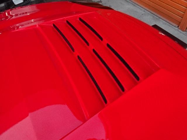 ツインターボMR サンルーフ レカロシート 車高調 社外20インチアルミ 4本出しマフラー ダクト付きボンネット フロントフェンダー(14枚目)