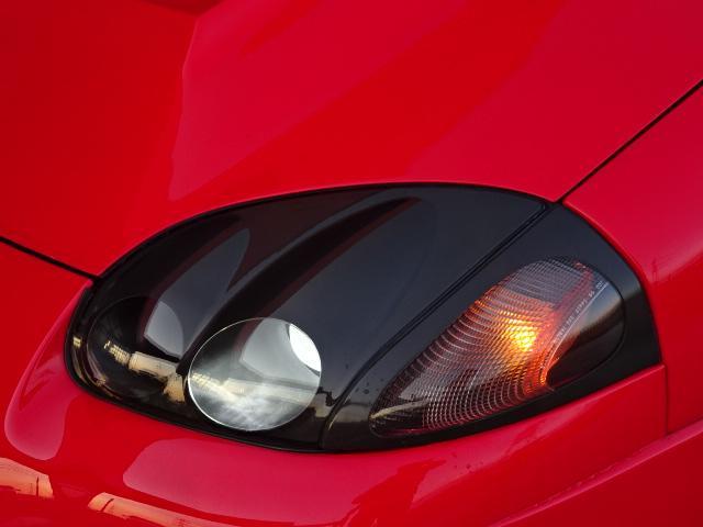 ツインターボMR サンルーフ レカロシート 車高調 社外20インチアルミ 4本出しマフラー ダクト付きボンネット フロントフェンダー(16枚目)