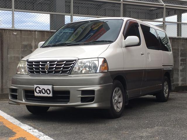 トヨタ グランドハイエース G Xエディション フルセグナビ アルミ ダブルサンルーフ