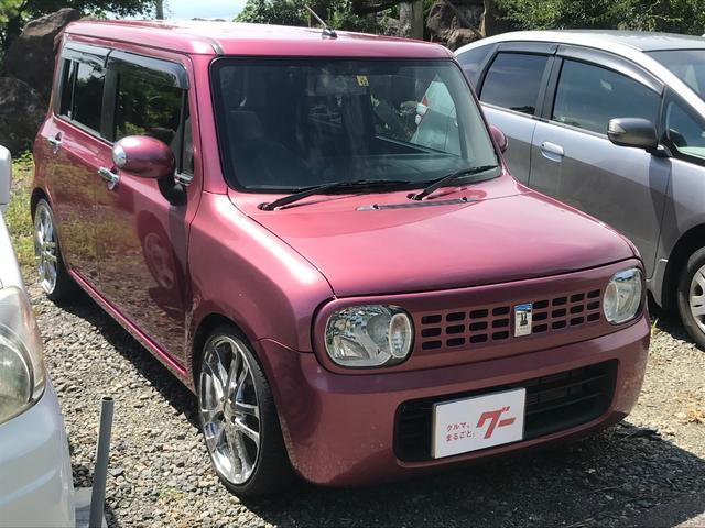 「スズキ」「アルトラパン」「軽自動車」「長崎県」の中古車3