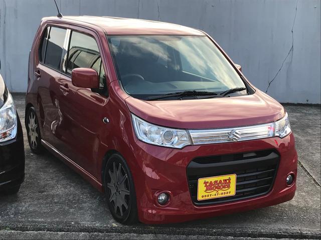 「スズキ」「ワゴンRスティングレー」「コンパクトカー」「長崎県」の中古車4