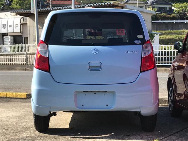 「スズキ」「アルト」「軽自動車」「長崎県」の中古車5