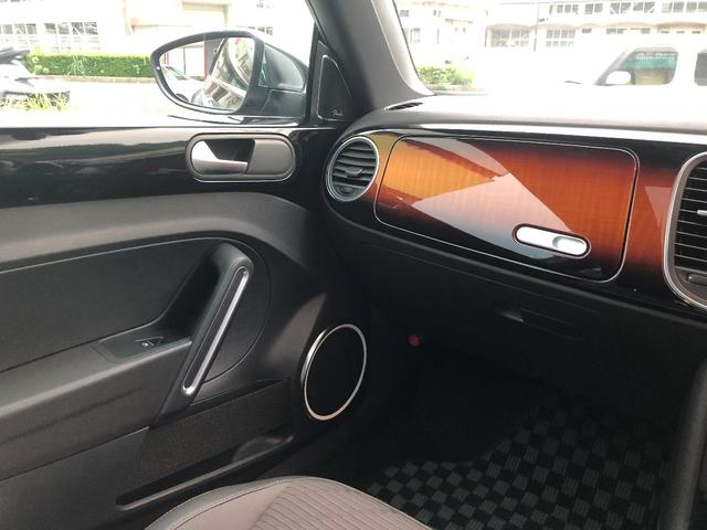 フォルクスワーゲン VW ザ・ビートル フェンダー・エディション 限定車 専用インストルメントパネル