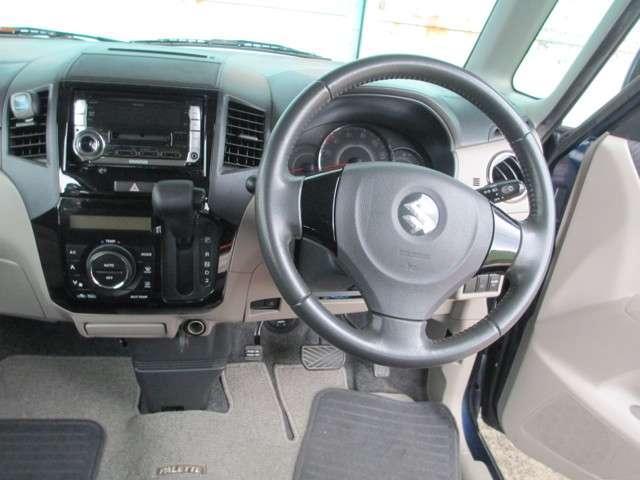 スズキ パレット TS 1オーナー ターボ HIDライト 両PスライドD